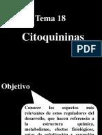 Tema 18. Citoquininas-OPO