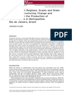 Development Regimes, Scales and State Spatial Restructuring