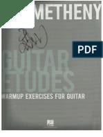 Pat Metheny - Guitar Etudes.pdf