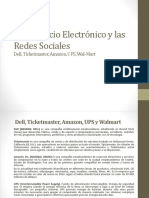 Presentcion. Dell, Ticketmaster, Amazon, UPS y