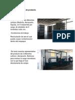 Área de Recepción de Producto