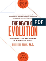 The Death of Evolution by Jim Nelson Black, Excerpt