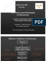 The History and Philosophy of Astronomy Lecture 5