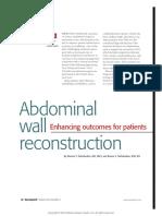 Abdominal Wall Reconstruction Enhancing Outcomes.11