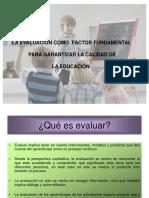 Presentación de Instrumentos de Evaluación
