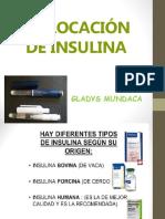 Aplicacion de Insulina