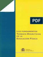 Los fundamentos teóricos didácticos de la educación física.