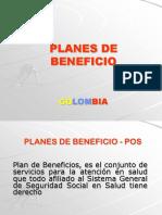 Planes de Beneficio de Salud en Colombia
