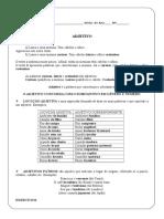ADJETIVOS - EXERCICIOS.doc