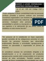 1a)La Contabilidad Obligatoria y El Sistema de Registros Contables