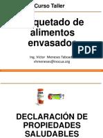 Capitulo IV - Declaracion Propiedades Saludables