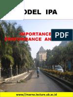 Metode Ipa Dalam Kajian Lingkungan