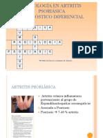 Radiografía Psoriasis 2015