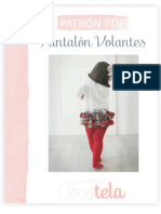 Cosotela Pantalón Con Volantes (PDF)