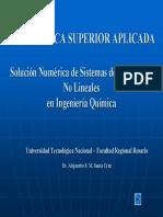 5 - Sistemas Ecuaciones No Lineales en IQ MSA