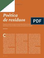 Poética de Resíduos _ Revista Pesquisa Fapesp