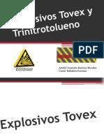Explosivos Tovex y Trinitrotolueno