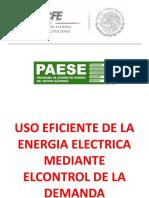 Uso eficiente de La energía eléctrica mediante el control de la demanda