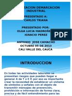 SEÑALIZACION DEMARCACION INDUSTRIAL DIAPOSITIVAS.pptx