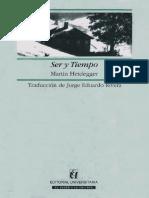 Heidegger, M. - Ser y Tiempo (Trad. Rivera)