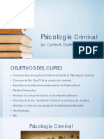 Psicologia Criminal 1era Clase PDF