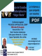 Invitación Edgar Morín 30 Agosto. (1)