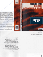 Bruno Giordano - De la Magia de los Vinculos en General (1).pdf