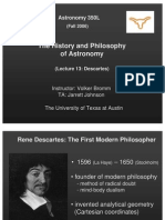The History and Philosophy of Astronomy Lecture 13