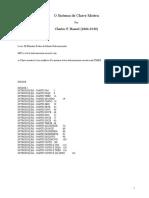 Charles F Haanel - O Sistema da Chave Mestra.doc