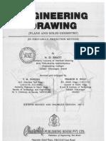 Machine Drawing Book Intro By Nd Bhatt Gear Screw