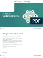 As 10 Leis Do Customer Success