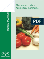 Plan Andaluz de La Agricultura Ecologica