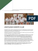Karate Club Eastleigh