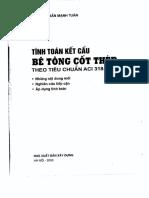 Tinh toan ket cau be tong cot thep theo tieu chuan ACI 318 2002 PGS. TS Tran Manh Tuan.pdf