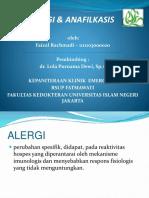 Reaksi Alergi Dan Anafilaksis