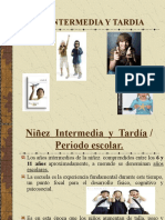Ninez Intermedia - Tardia y Adolescencia