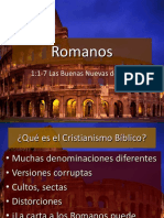 1) Romanos 1 Del 1 Al 17 Buenas Nuevas RL