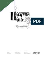 Gray water Manual, Los Angeles California
