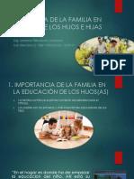 Influencia de La Familia en La Conducta y