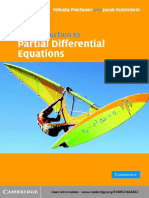 An introduction to Partial Differential equations - Yehuda Pinchover and Jacob Rubinstein.pdf