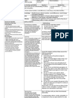 Instructional Plan for Understanding Culture Society and Politics