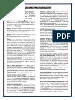 Glosario Para Tabulacion y Síntesis Del Eneagrama