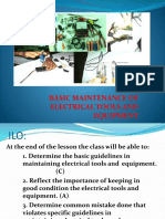 Electrical Installation and Maintenance Activity