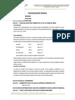 04 Especificaciones Tecnicas Inst. Sanitarias