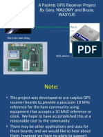 A Packrat GPS Receiver Project