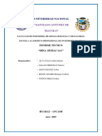 Informe Tecnico- Final