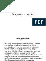 Pendekatan-masteri