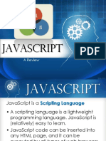 A Brief Review of JavaScript