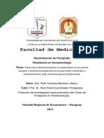 Anestesiologia Protocolo en UNI Actualizado 10 07 2017