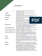 Parameter Optim Jaringan 3G